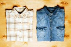 Dos camisas Imagen de archivo