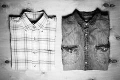 Dos camisas Fotografía de archivo