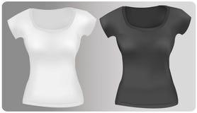 Dos camisetas. Fotos de archivo libres de regalías