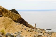 Dos Capelinhos van de vulkaan Royalty-vrije Stock Afbeeldingen