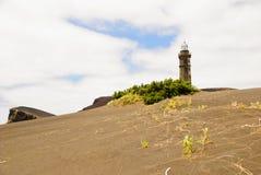 Dos Capelinhos van de vulkaan Royalty-vrije Stock Foto