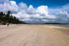 Dos Carneiros - Pernambuco Прая, Бразилия Стоковые Изображения RF