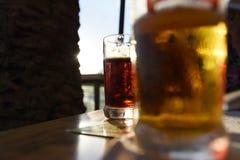 Dos cervezas imagen de archivo