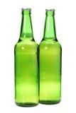 Dos cervezas Foto de archivo libre de regalías