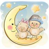 Dos Chiks lindo libre illustration