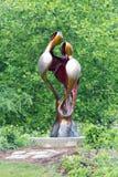 Dos cigüeñas Foto de archivo