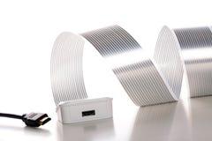 Cables de HDMI Imagen de archivo