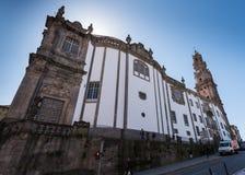 Dos Clerigos Porto de Clerigos Igleja e de Torre Fotografia de Stock
