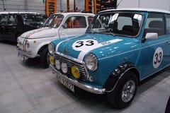 Dos coches clásicos Imagen de archivo libre de regalías