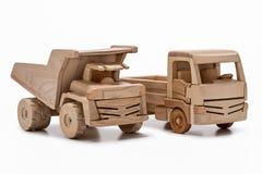 Dos coches del juguete Fotografía de archivo