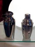 Dos coctelera de cóctel Imagen de archivo