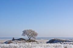 Dos colinas Foto de archivo libre de regalías