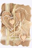 Dos corazones Foto de archivo