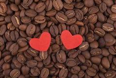 Dos corazones. Fotos de archivo