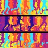 Dos corredores aos corredores Fotografia de Stock
