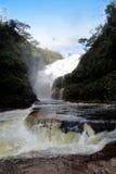 Dos Couros de Cachoeira, dos Veadeiros - Brasil do na Chapada Imagem de Stock