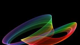 Dos curvas Imagen de archivo libre de regalías