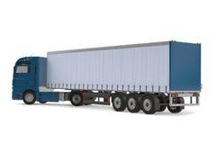 Dos de camion de véhicule de livraison de cargaison Photographie stock