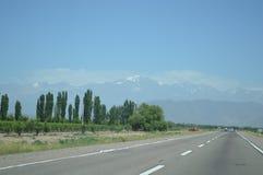 DOS de Cordilheira les Andes - Chili e Argentine Image libre de droits