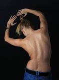 Dos de femelle photographie stock libre de droits