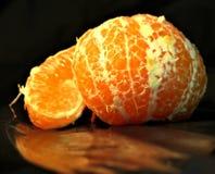 Dos de mandarines anaranjados hermosos foto de archivo