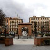 Dos de mayo square, Madrid Stock Photo