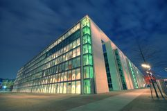 Dos de Paul Löbe Haus - Berlin photos libres de droits