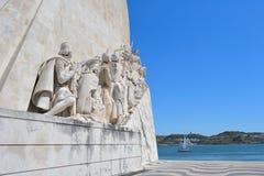 DOS Descobrimento, Portogallo di Monumento Immagine Stock