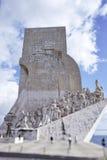 DOS Descobrimentos, μνημείο ανακαλύψεων, Λισσαβώνα Padrao Στοκ Εικόνα
