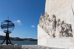 Dos Descobrimentos de Padrão em Belém, Lisboa imagens de stock royalty free
