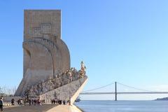 Dos Descobrimentos de Padrao - monumento às descobertas imagem de stock royalty free