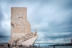 Dos Descobrimentos de Pedrao em Lisboa, Portugal Fotos de Stock