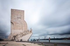 Dos Descobrimentos de Pedrao em Lisboa, Portugal Fotografia de Stock Royalty Free