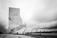 DOS Descobrimentos de Pedrao en Lisboa, Portugal Fotografía de archivo libre de regalías