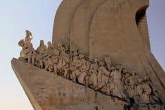 DOS Descobrimentos di Padrão a Lisbona, Portogallo immagine stock libera da diritti