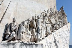 DOS Descobrimentos di Padrão a Lisbona, Portogallo immagini stock libere da diritti