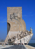 DOS Descobrimentos, Lisboa de Padrao Fotografía de archivo