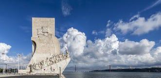 DOS Descobrimentos Lisbona di Padrão immagine stock libera da diritti