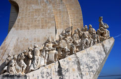 Dos Descobrimentos, Lissabon van Padrao Stock Afbeeldingen