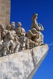 Dos Descobrimentos, Lissabon van Padrao stock afbeelding