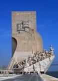 Dos Descobrimentos, Lissabon van Padrao stock fotografie