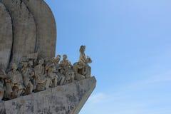 Dos Descobrimentos Padrao, памятник открытия, Лиссабон, Португалия Стоковое Изображение RF