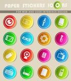 Dos dispositivos ícones simplesmente Foto de Stock