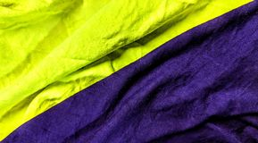 Dos diversas telas coloreadas del amarillo y de la púrpura ilustración del vector