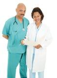 Dos doctores Fotos de archivo