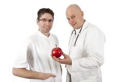 Dos doctores Imágenes de archivo libres de regalías