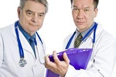 Dos doctores de sexo masculino Fotos de archivo libres de regalías