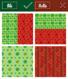 Dos and donts seamless pattern set Royalty Free Stock Photos