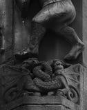 Dos dragones Fotos de archivo libres de regalías