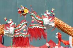 Dos dragones juegan el grano Foto de archivo libre de regalías